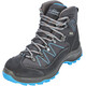 High Colorado Ultra Hike Mid High Tex Wanderschuhe Damen anthrazit-blau
